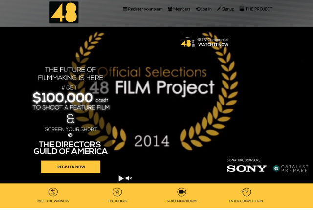 48 FILM Project, Online Short Film Contest