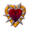 Photoshop Creation Red Heart