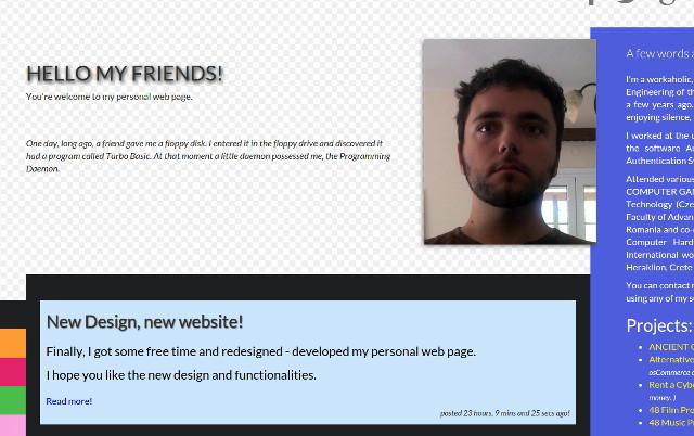 New Design, new website!
